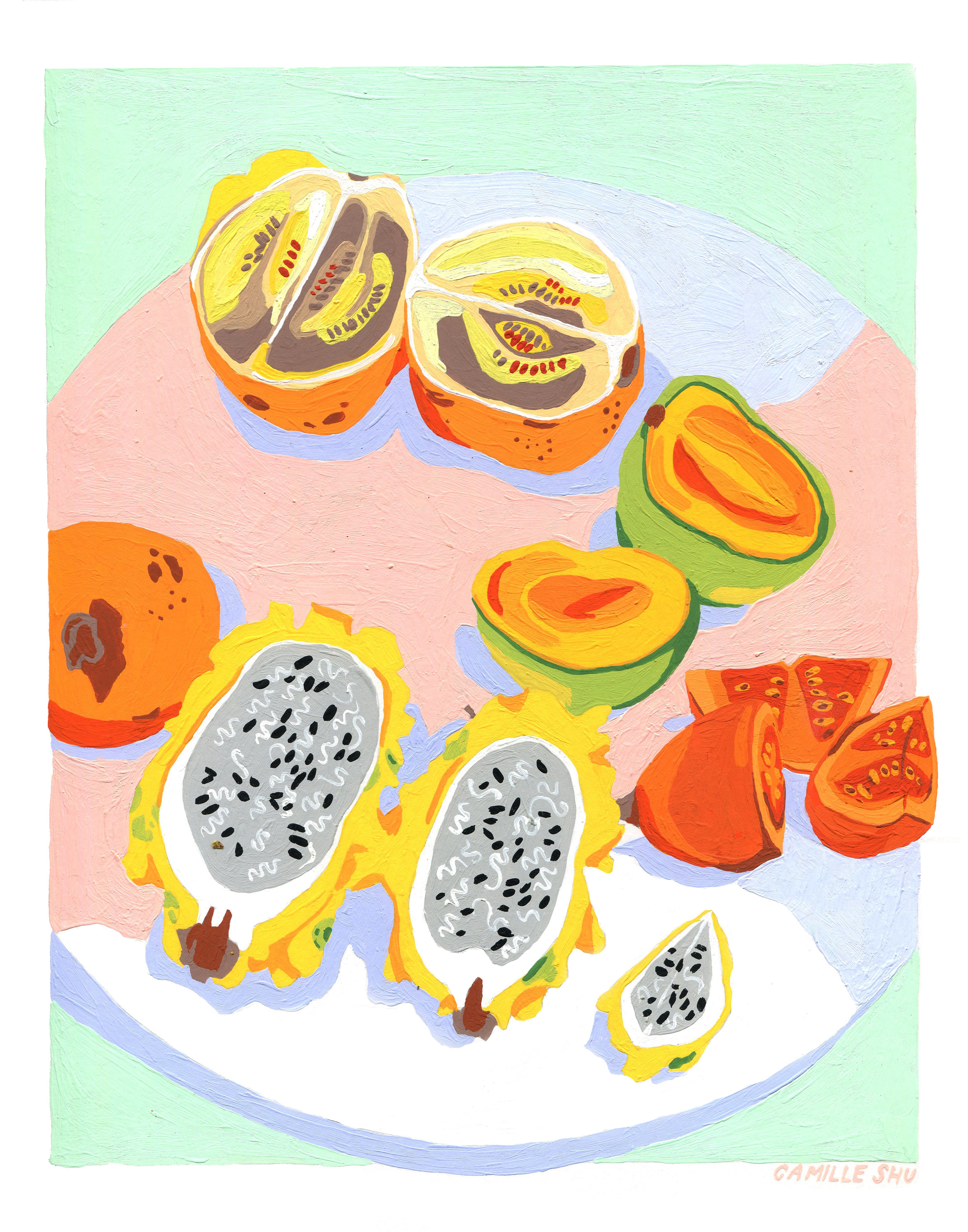 tropical fruit print 11x14 .jpg