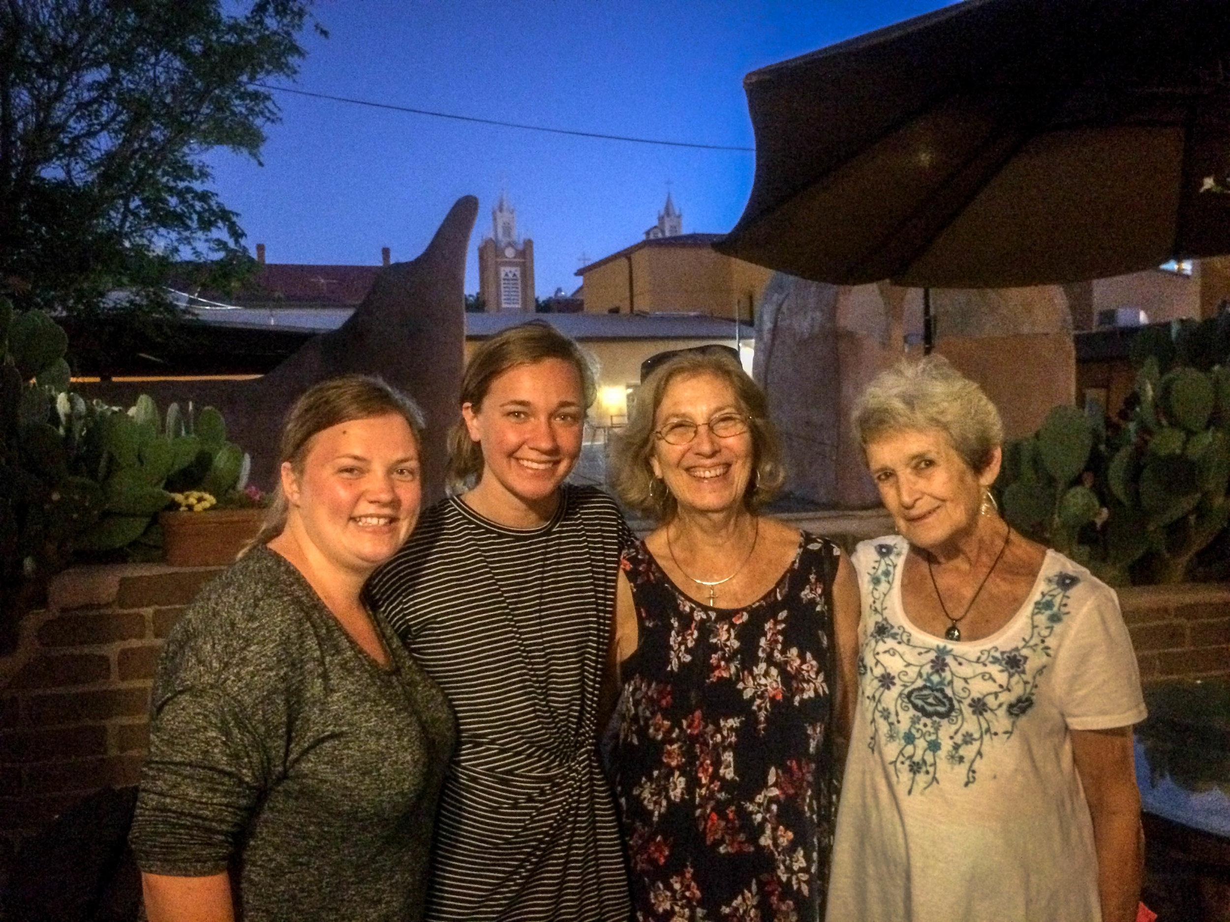 Me, Marah, Dottye, and her sister Karen.