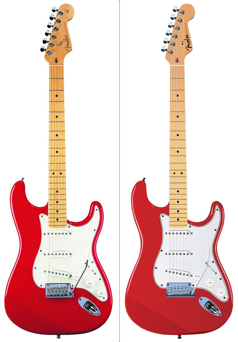 Electric Guitar Rendering