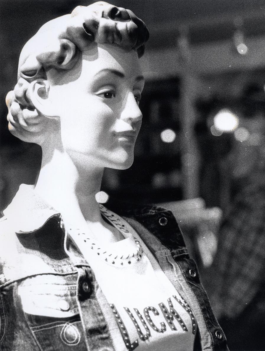 Lucky Mannequin