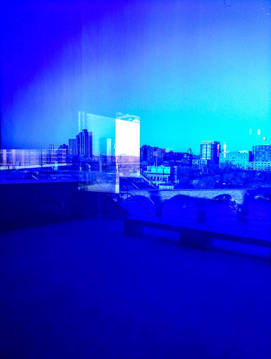 Aqua Glass Skyline