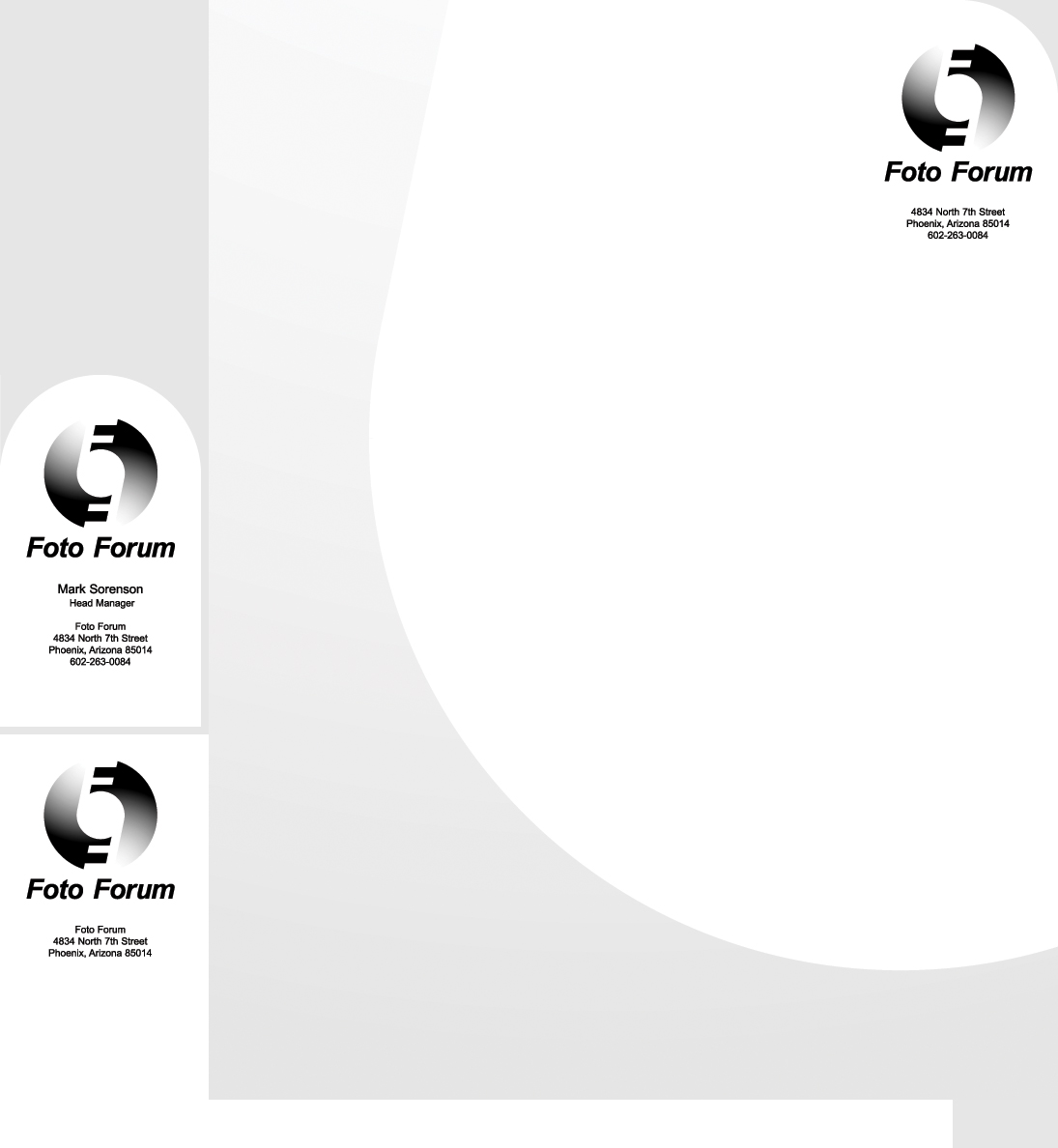 Foto Forum Logo Design & Business Suite