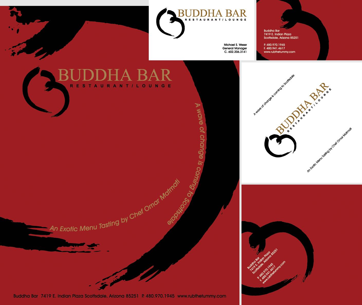 Buddha Bar Logo Design & Branding