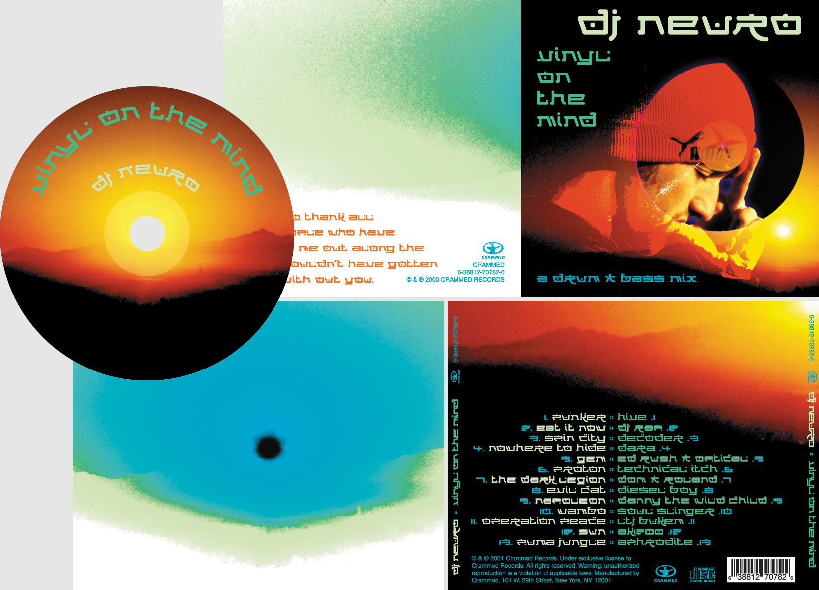 DJ Neuro CD Design