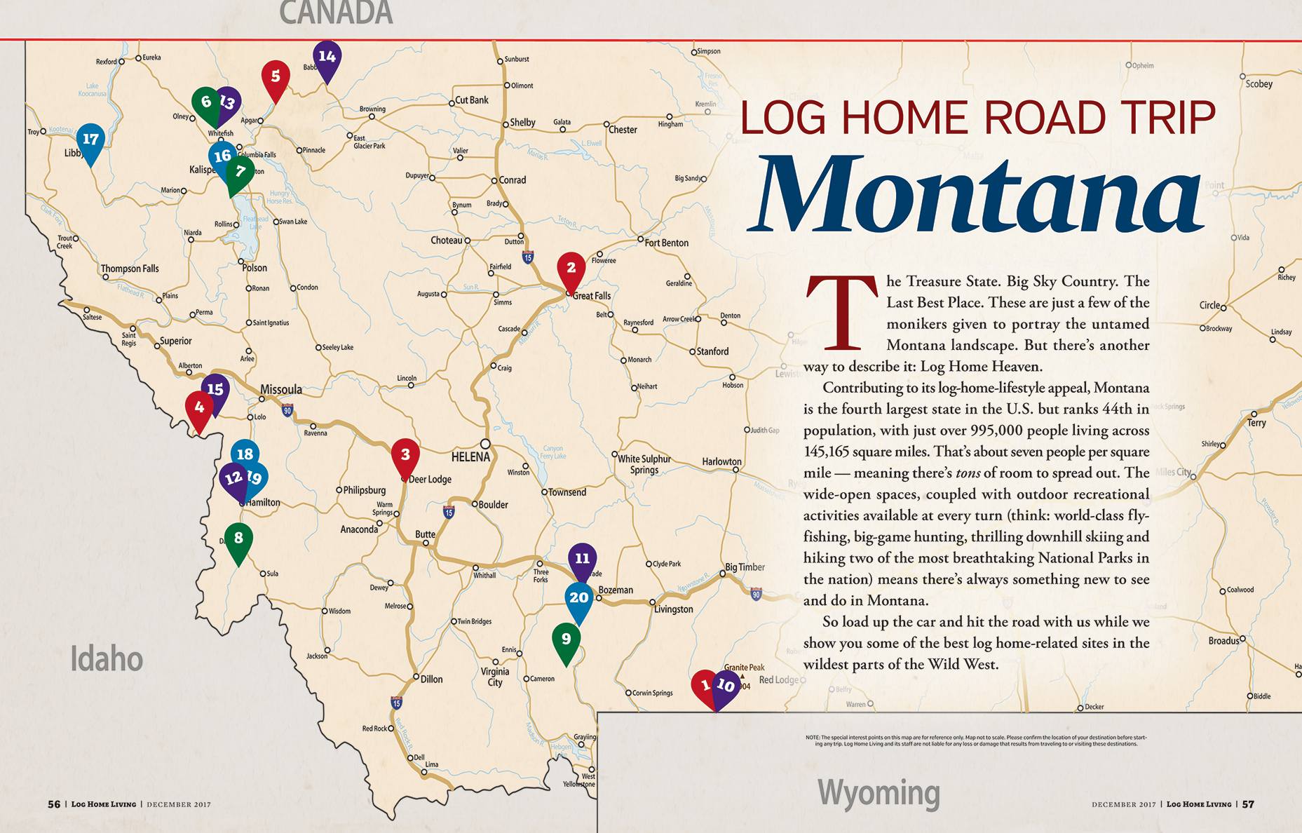 Log Home Road Trip 1 of 4