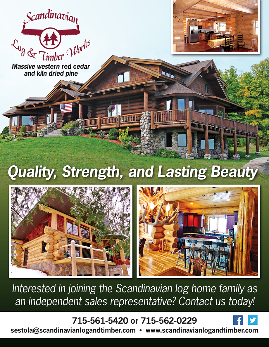 Scandinavian Log & Timber Works Ad