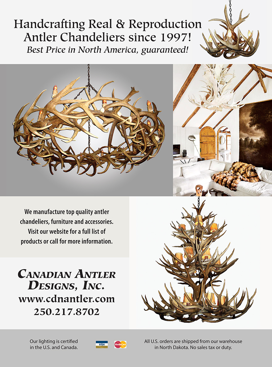 Canadian Antler Designs Ad