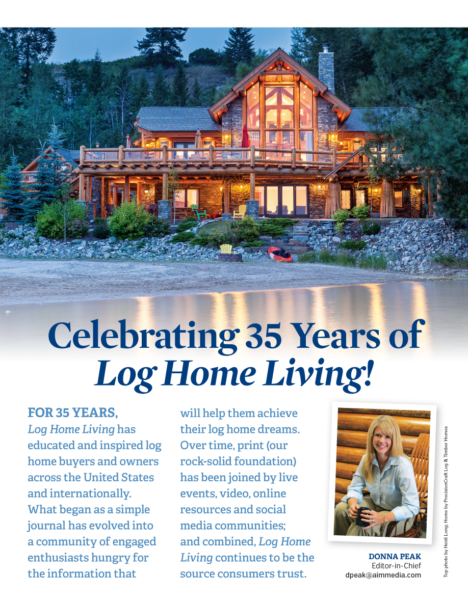 Log Home Living's 2018 Media Kit 2 of 9