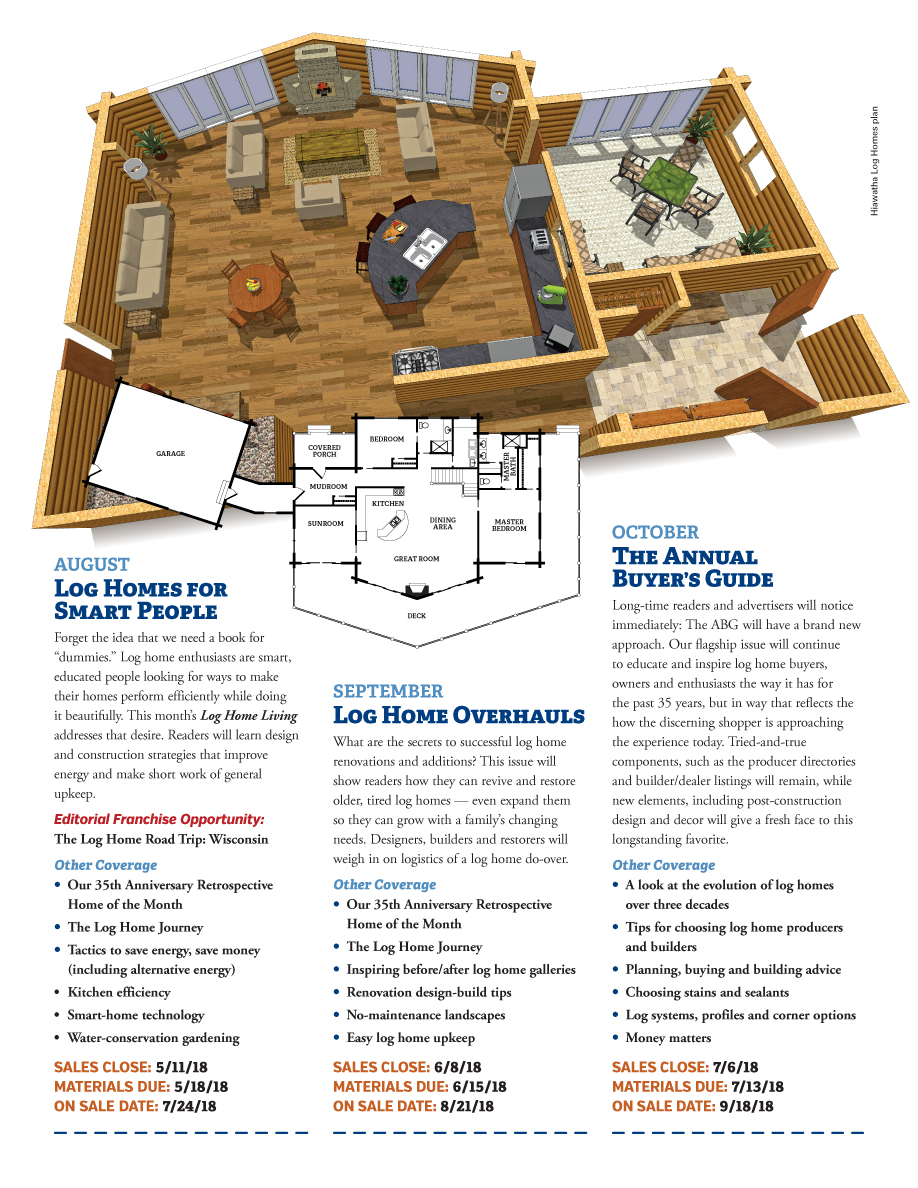 Log Home Living's 2018 Media Kit 6 of 9