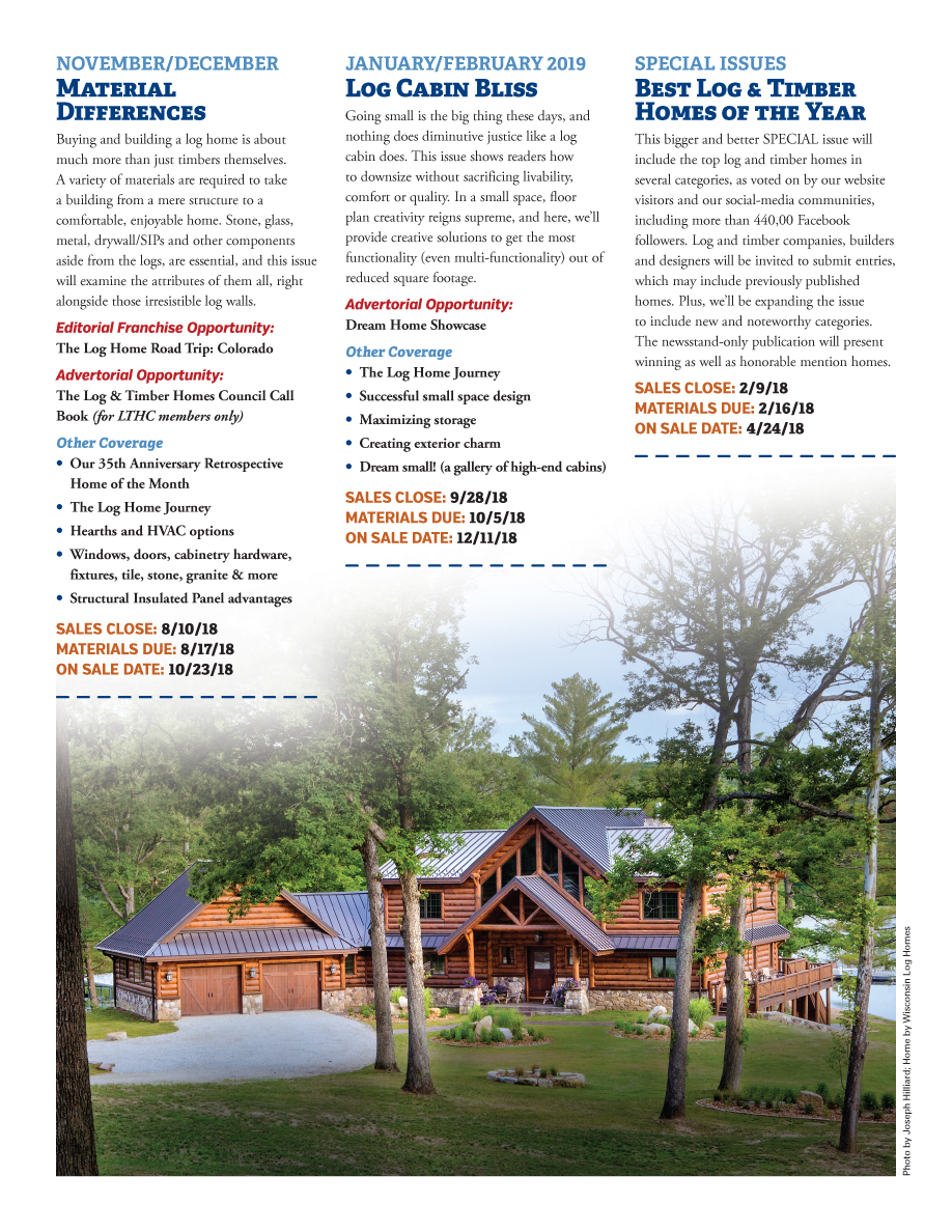 Log Home Living's 2018 Media Kit 7 of 9