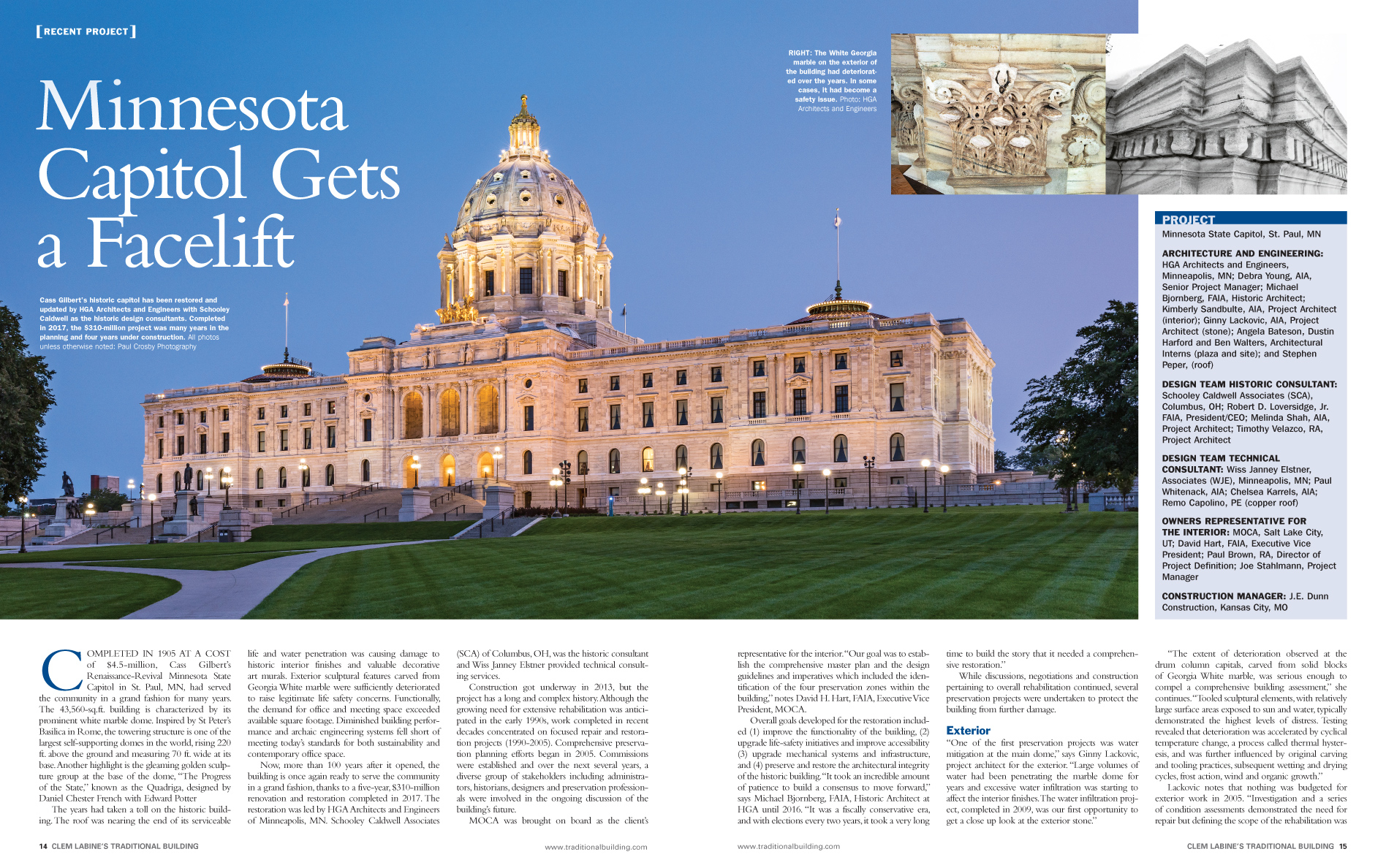 MN Capitol Gets a Facelift 1 of 4