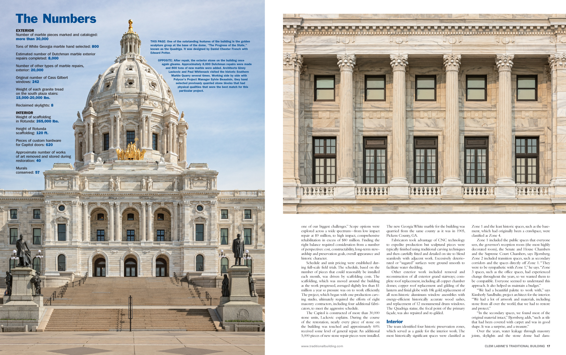 MN Capitol Gets a Facelift 2 of 4