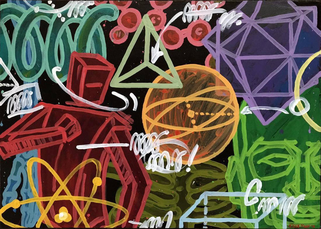 turn . 70x50 canvas '17