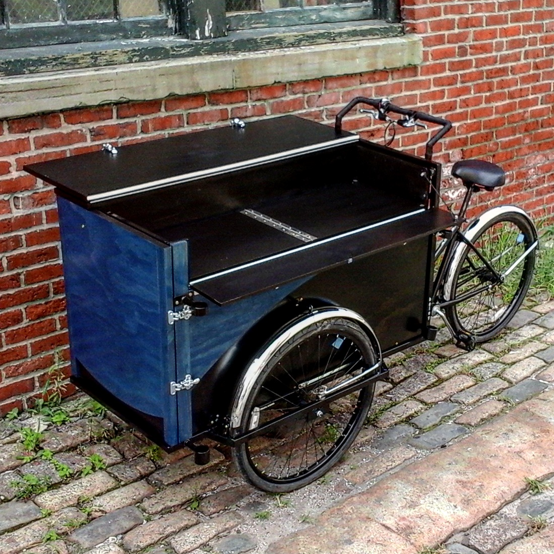 Heavy duty Vending Tricycle