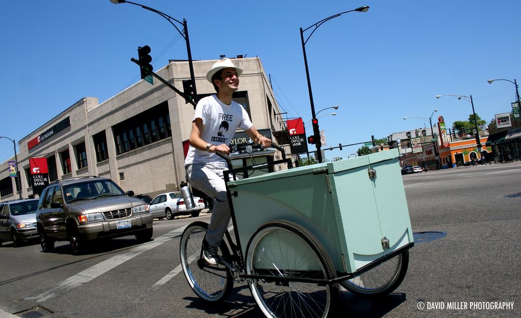 Chicago, IL Book Bike