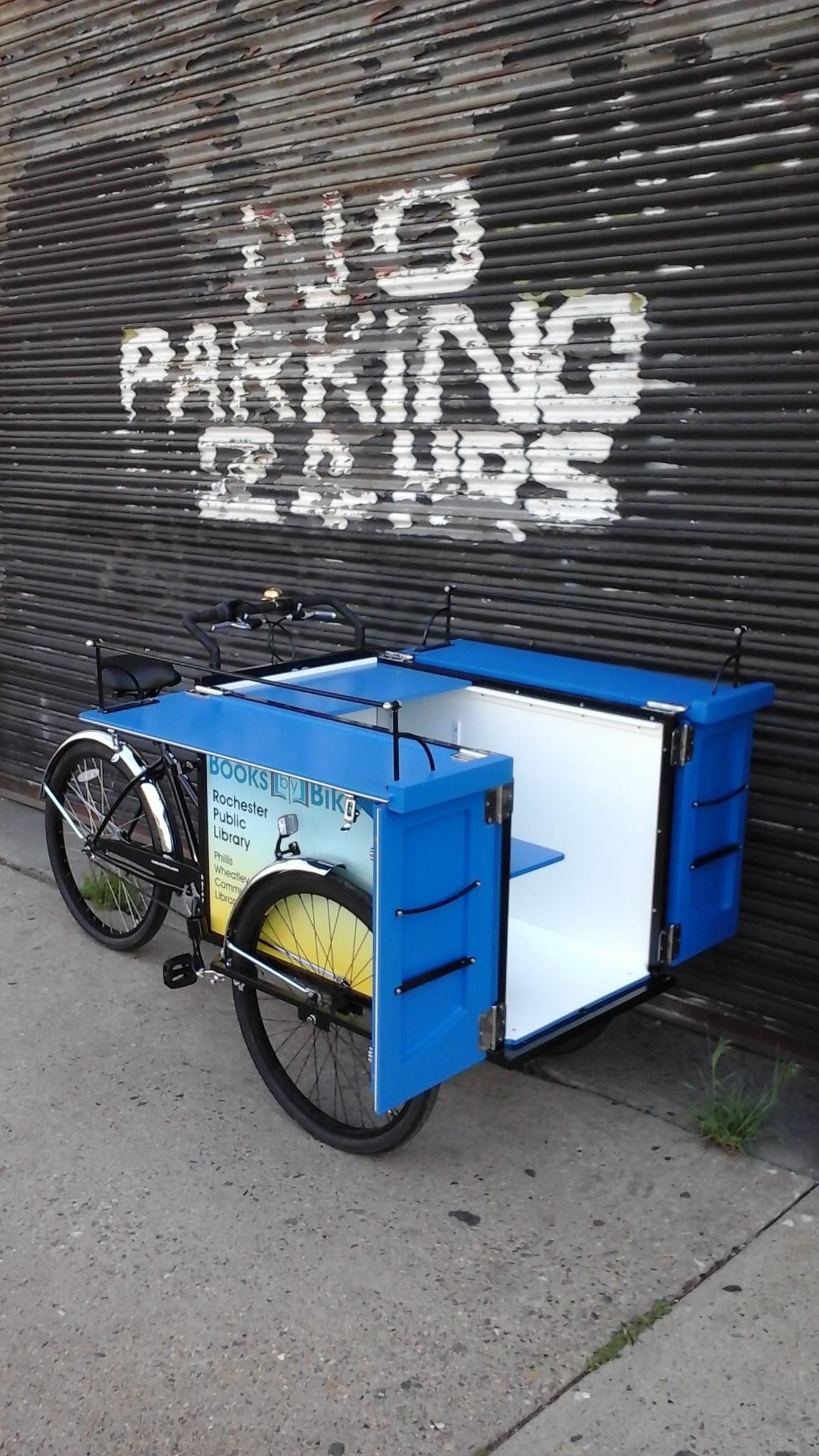 Rochester, NY Book Bike