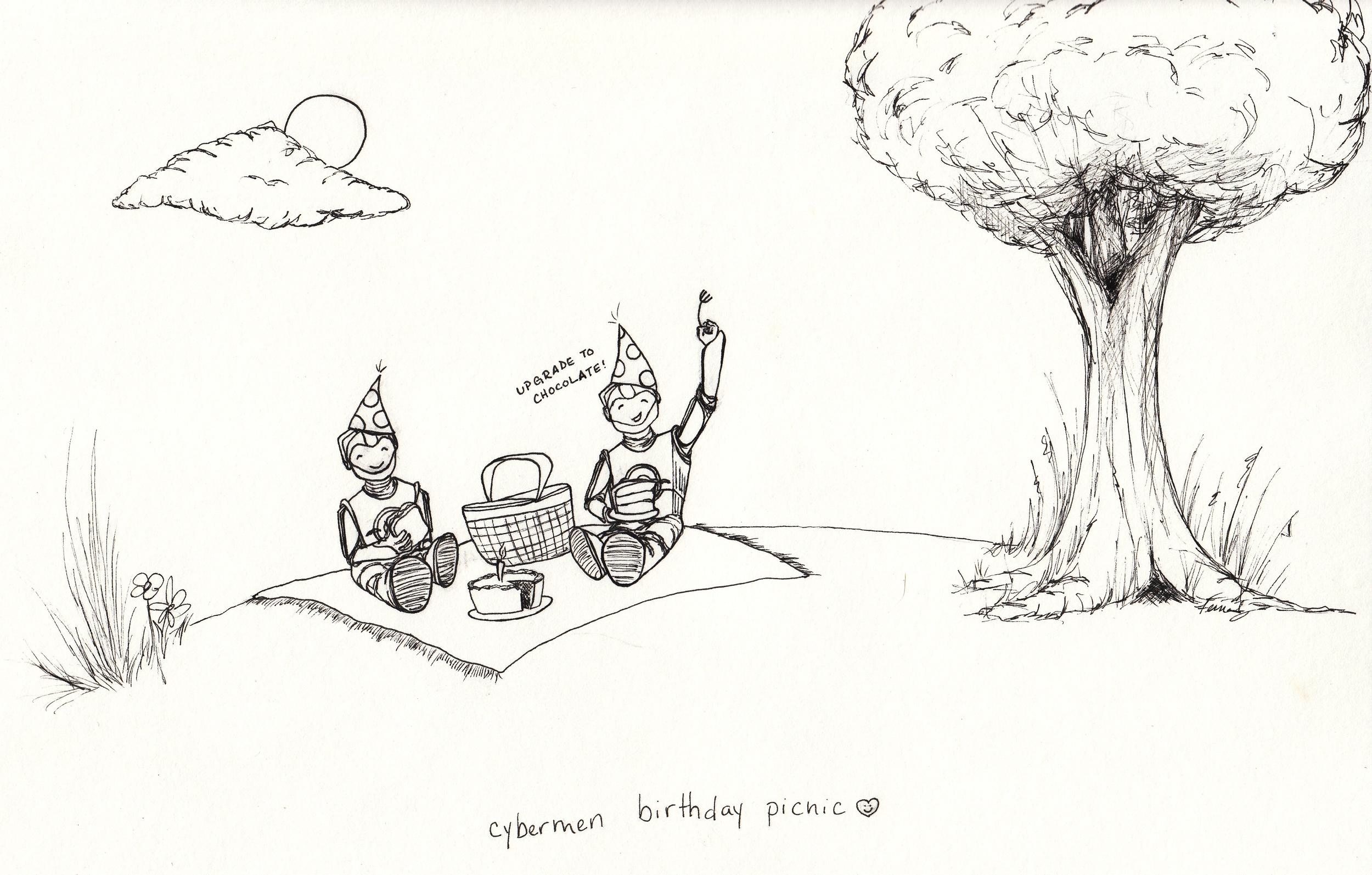 cybermen birthday picnic