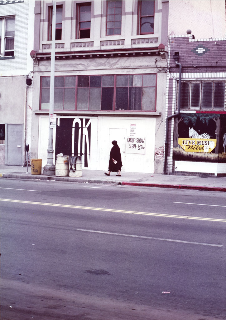 San Diego, Alternative Space, 1981