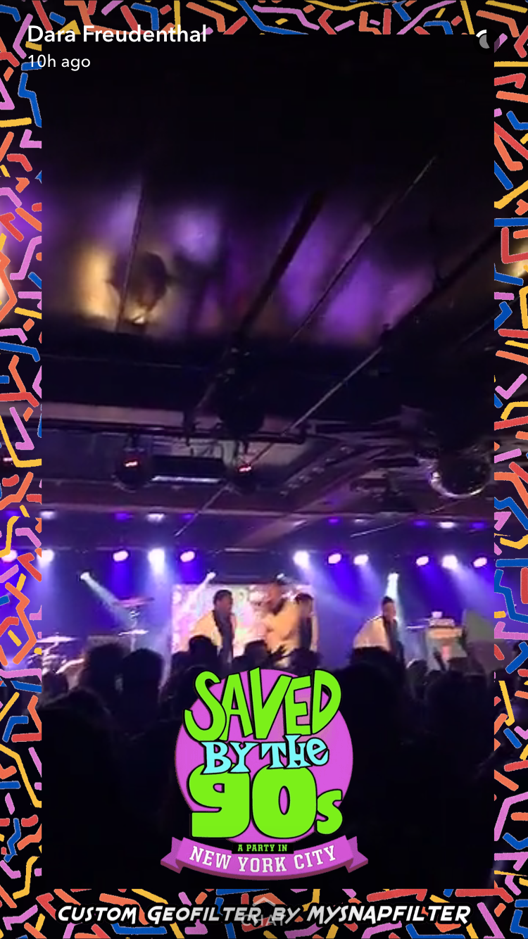 Saved by the 90s at Webster Hall Geofilter.PNG