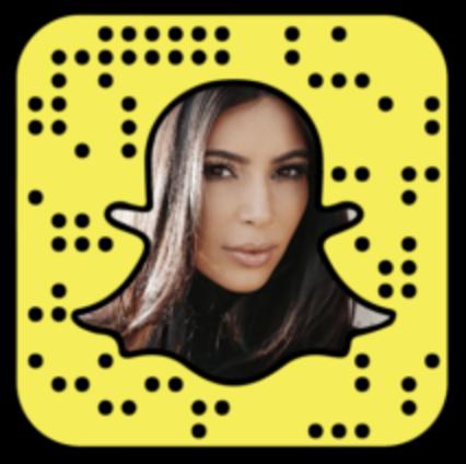 Kim Kardashian - Kim Kardashian snapchat -kimkardashian (link)