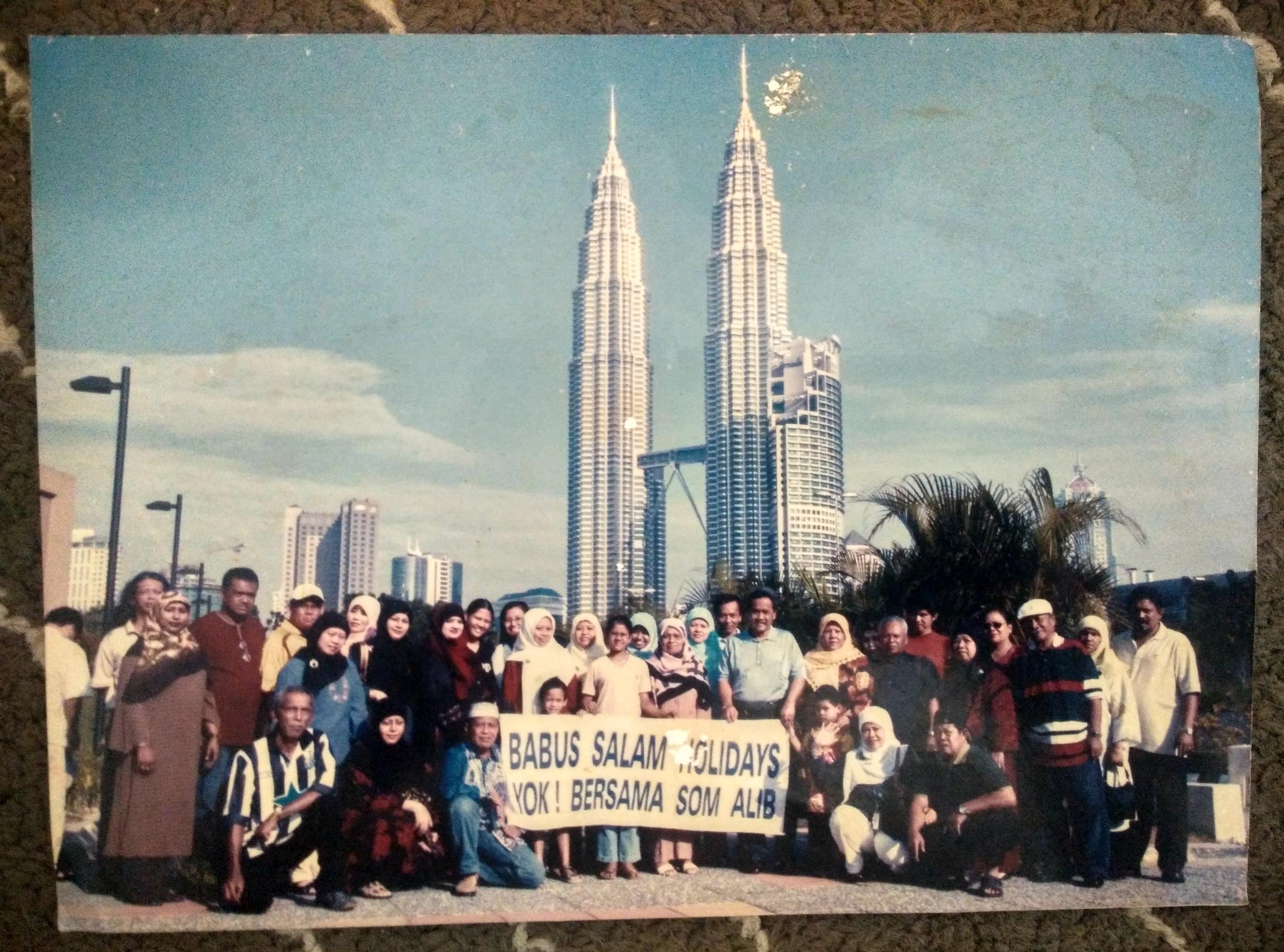 Kuala Lumpur in the 1990s! Faridah is in yellow.