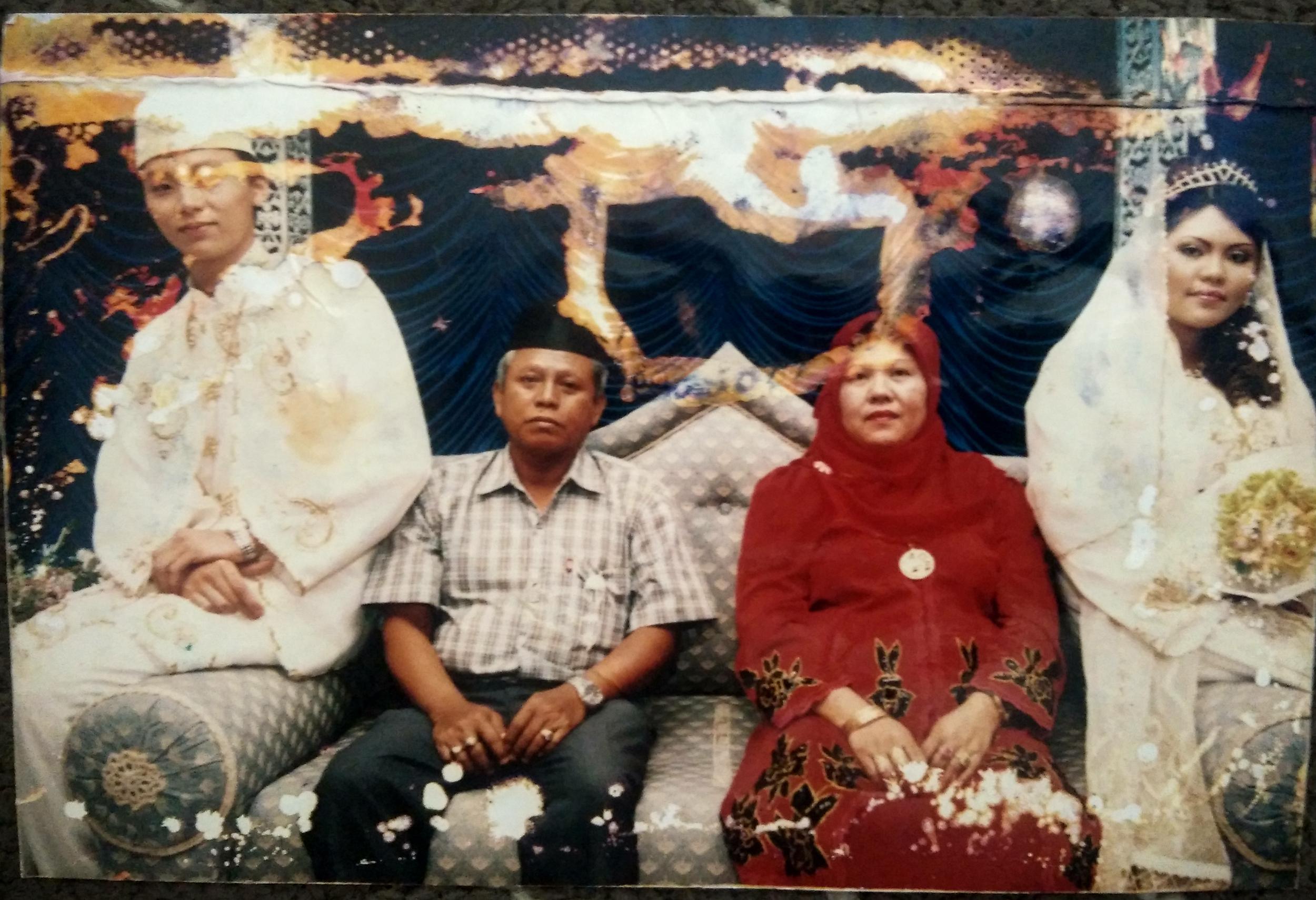 One of Faridah's daughter's wedding.