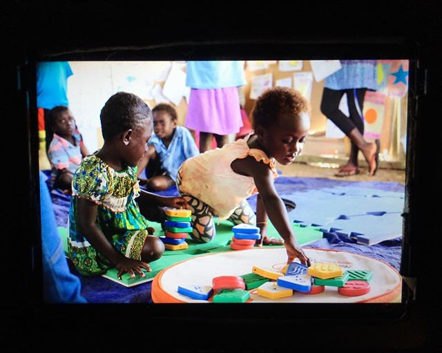 My job is to manage a project trying to improve education opportunities for preschool kids, quality of education for elementary school kids, including children with disabilities. We are in three provinces so I'll get to travel a bit, but goodness me this work is intense, interesting, and so important!! I took this picture in Buka, Autonomous Region of Bougainville.