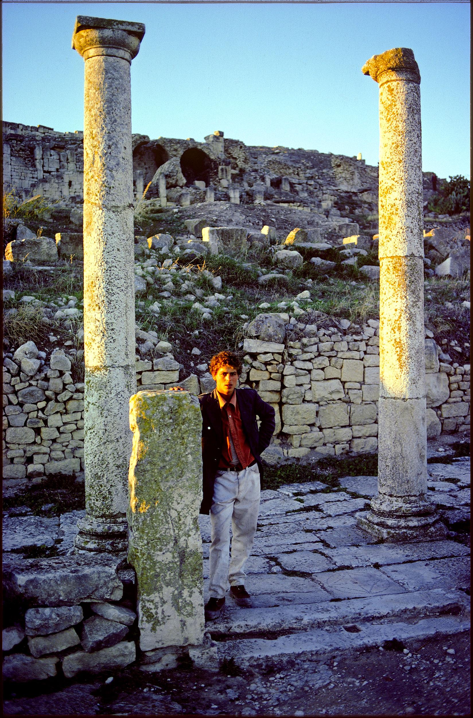 dougga, tunisia 1980