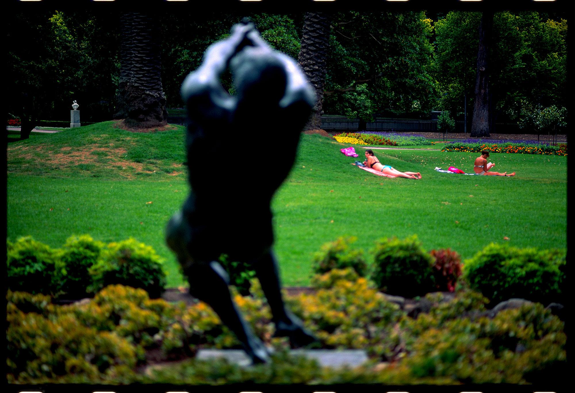 john robinson, the pathfinder (1974), queen victoria gardens, melbourne 2012