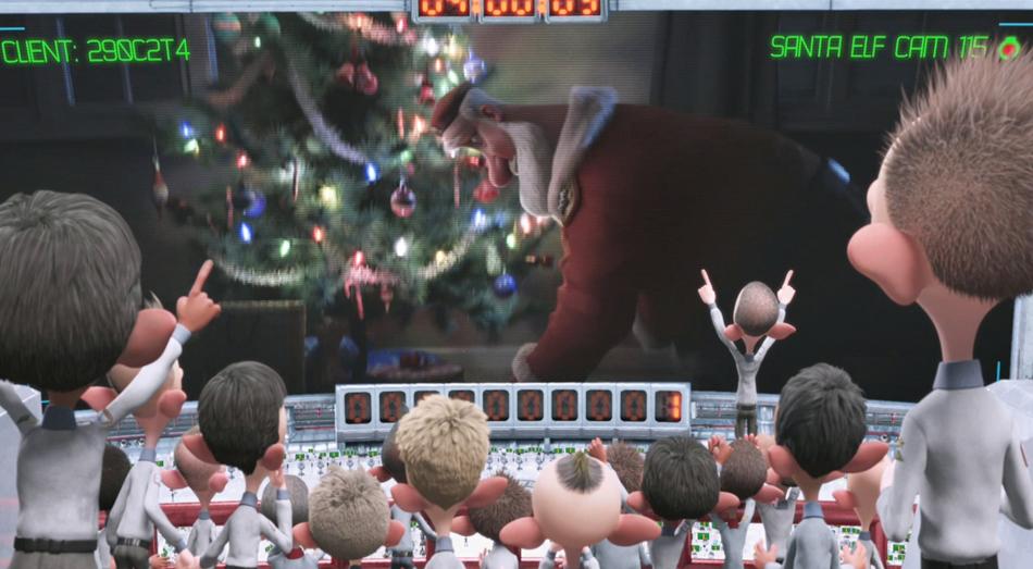 Arthur Christmas Elves.Sony Pictures Arthur Christmas Evan Parsons