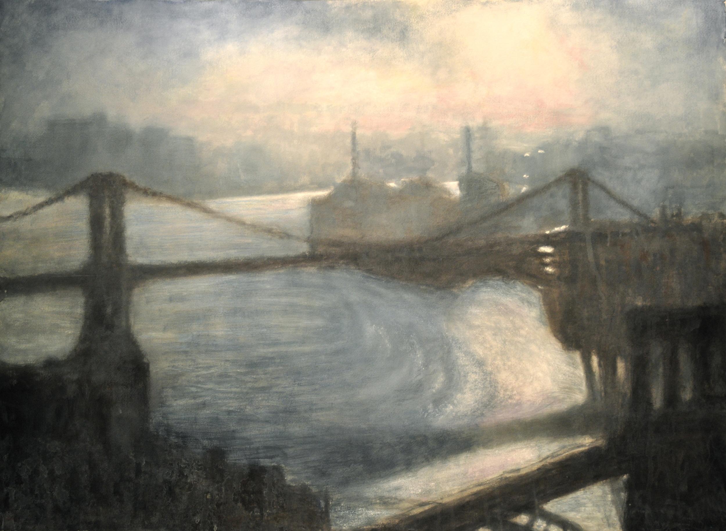 East River Dawn III • 51.5 x 37.5