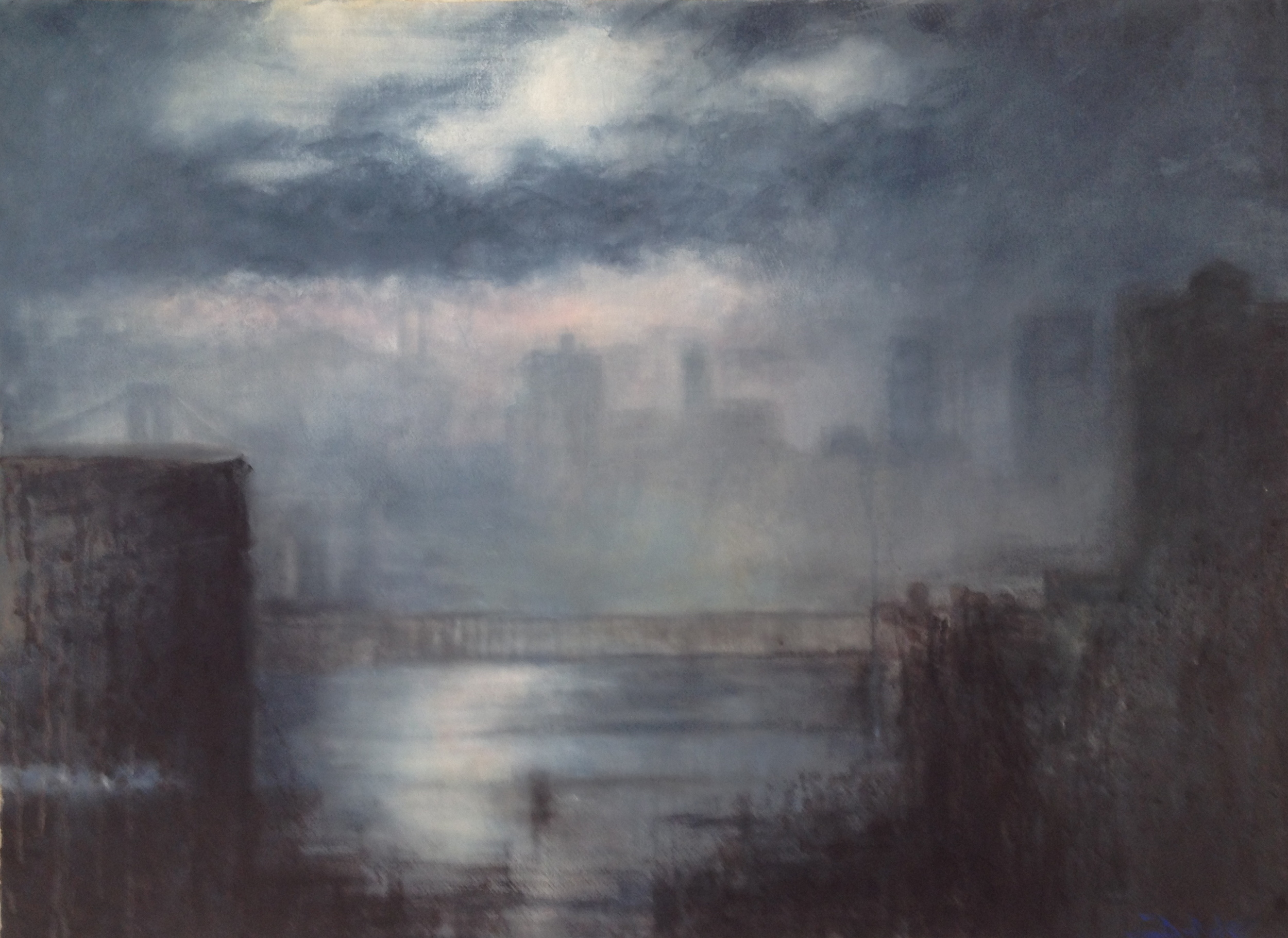 East River Dawn IV • 51.5 x 37.5