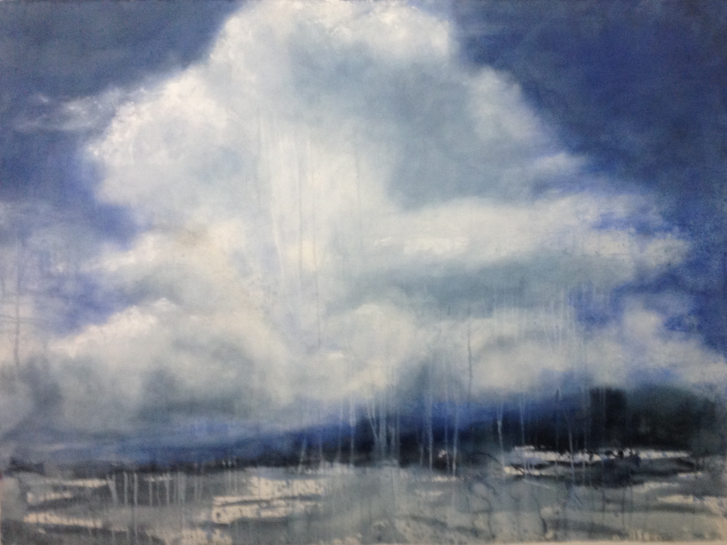 Lake Malawi Cloud • 52 x 68