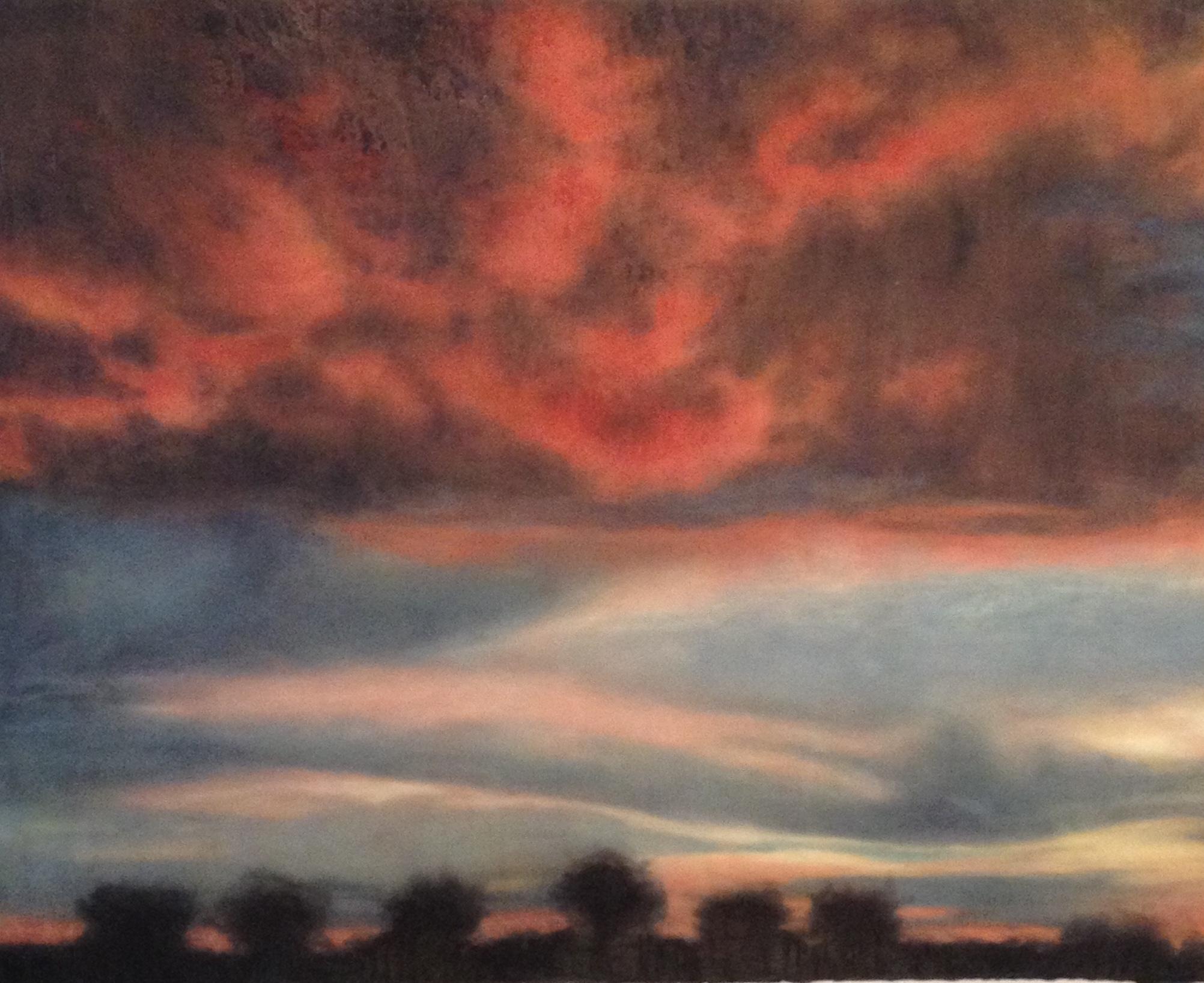 Fire Clouds, Zambia • 44 x 52.5