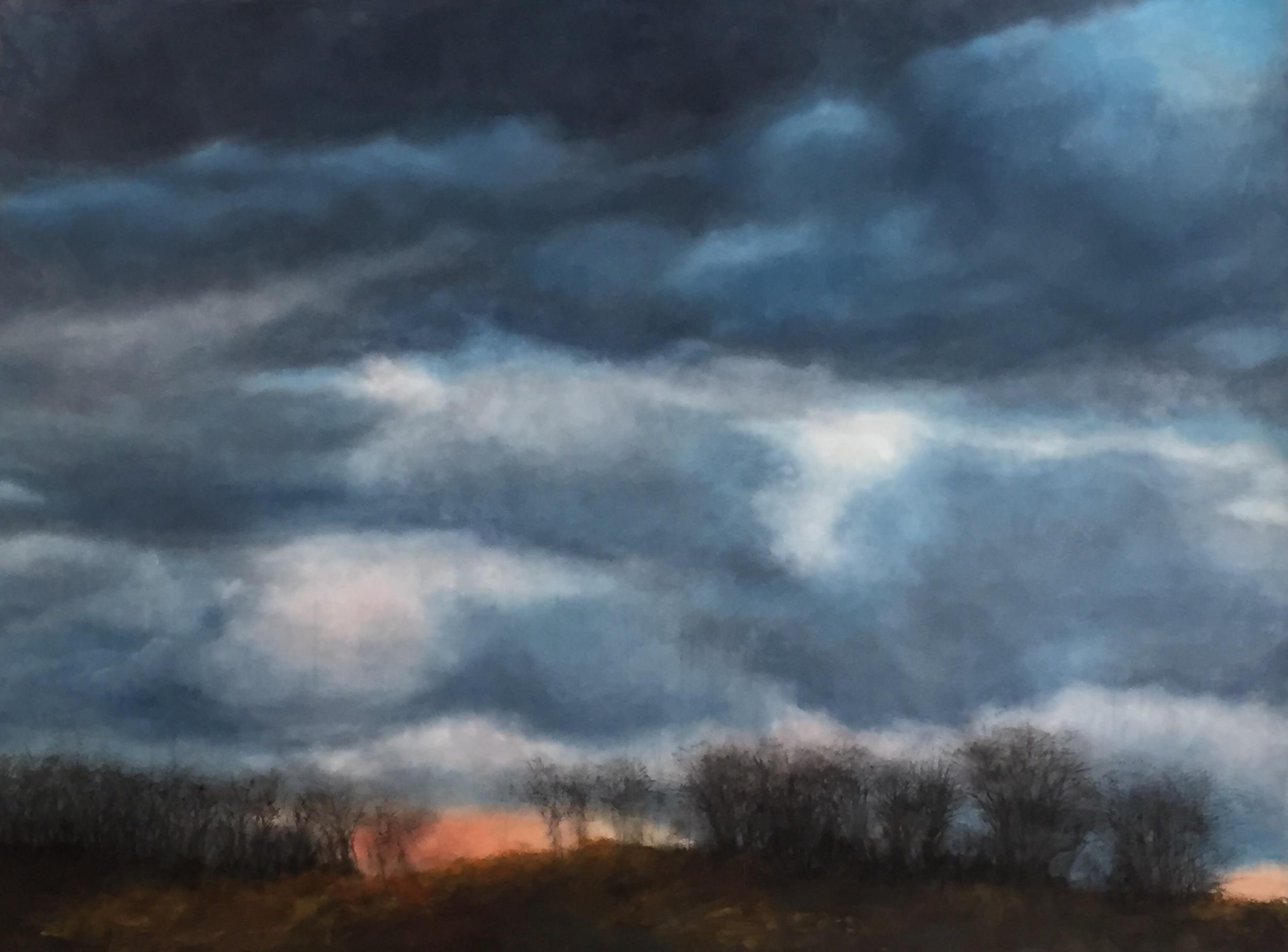 Warwick Night Clouds I • 51.5 x 68.5