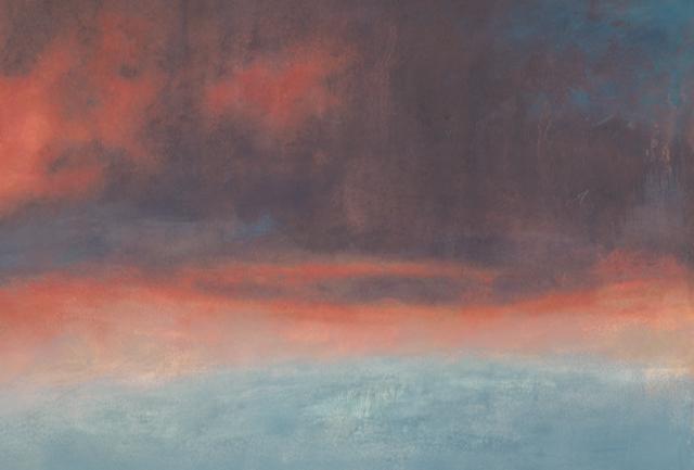Fire Clouds Crop 3 •  9.5 x 14