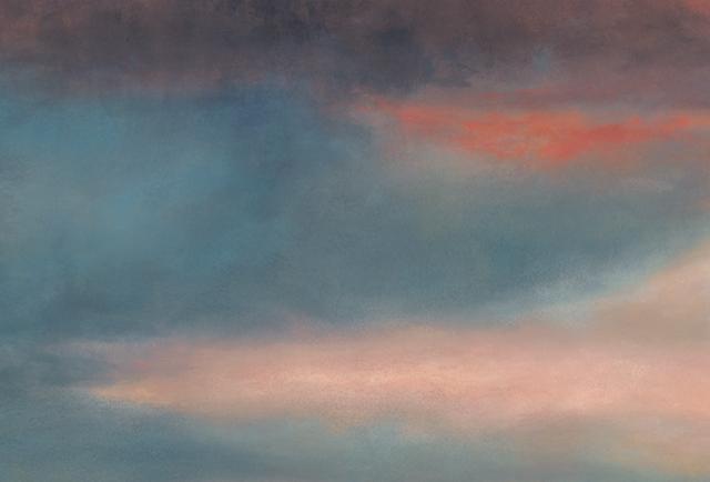 Fire Clouds Crop 4 •  9.5 x 14