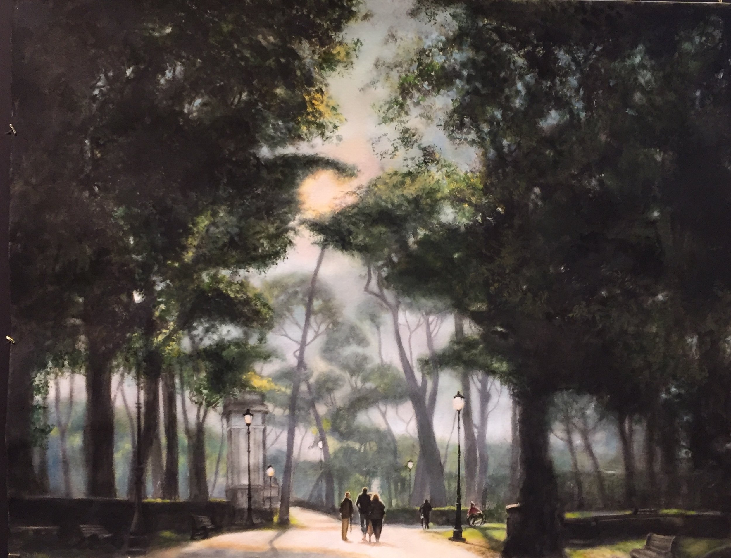 A Walk in the Park • 39 X 29