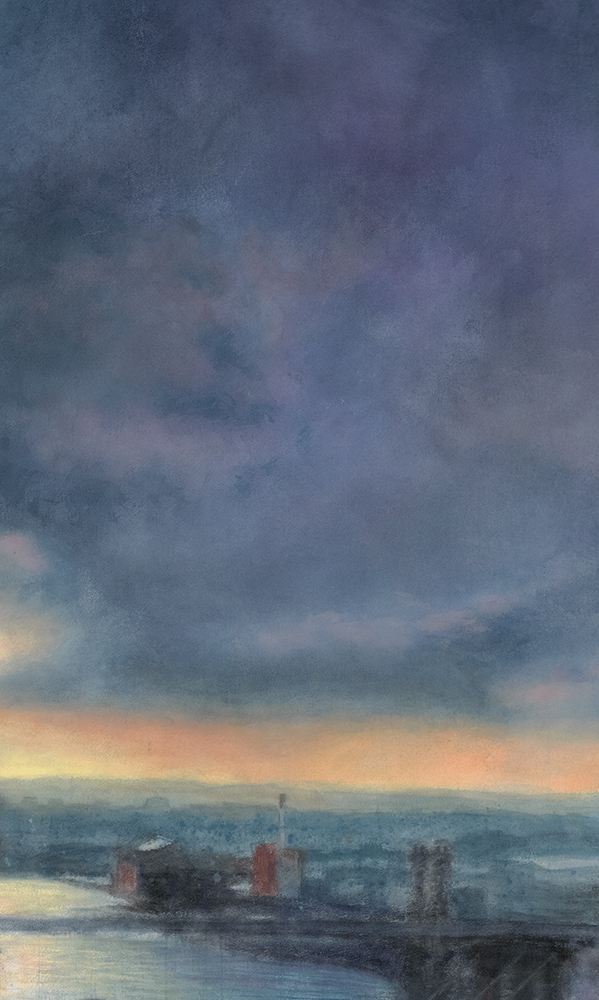 Morning Crane Crop 2 • 10 x 17