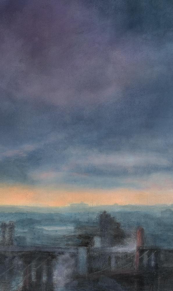 Morning Crane Crop 3 • 10 x 17