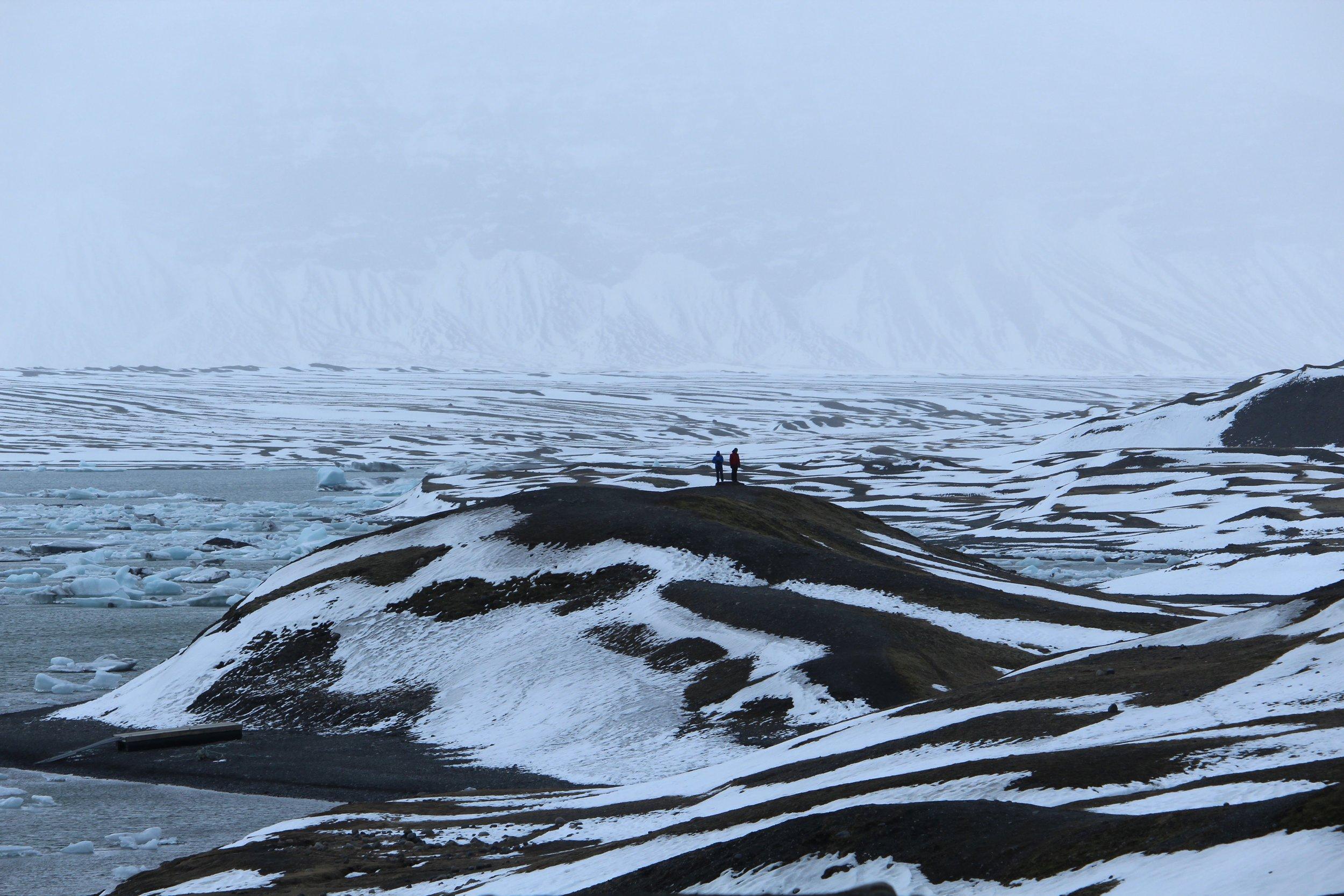 Jökulsarlón glacier lagoon