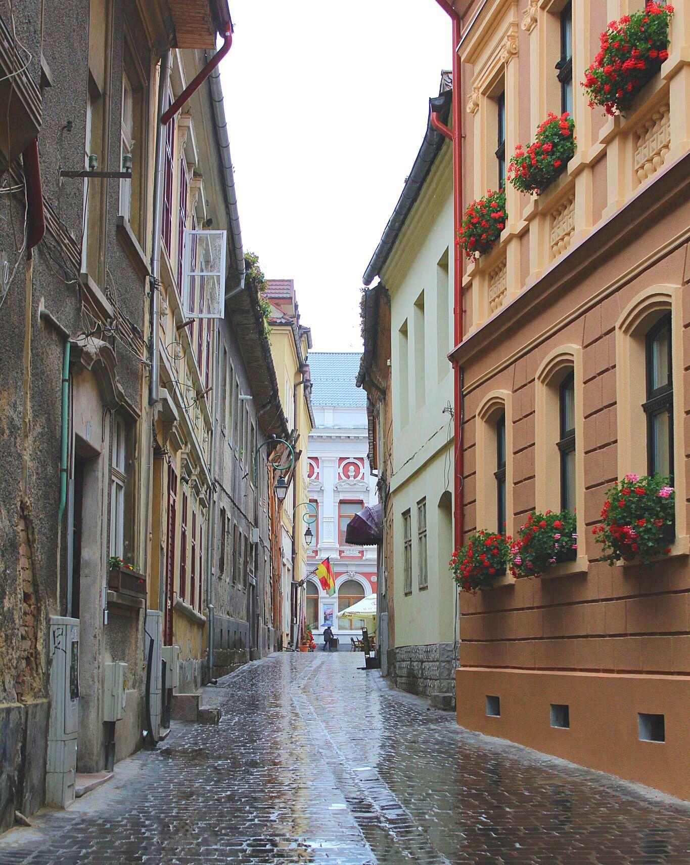 Streets of Brașov