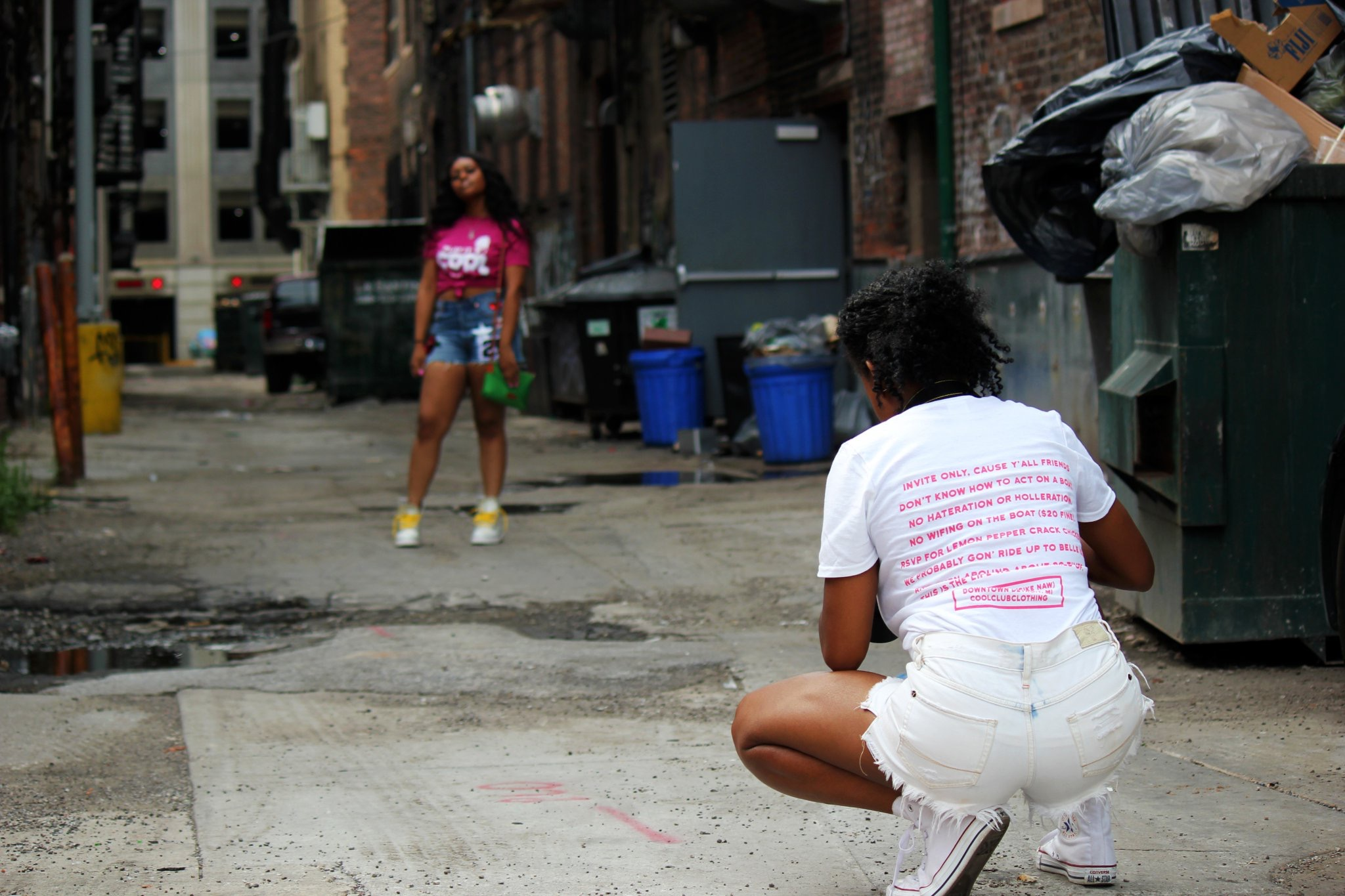 Cool Club Clothing Detroit Shoot