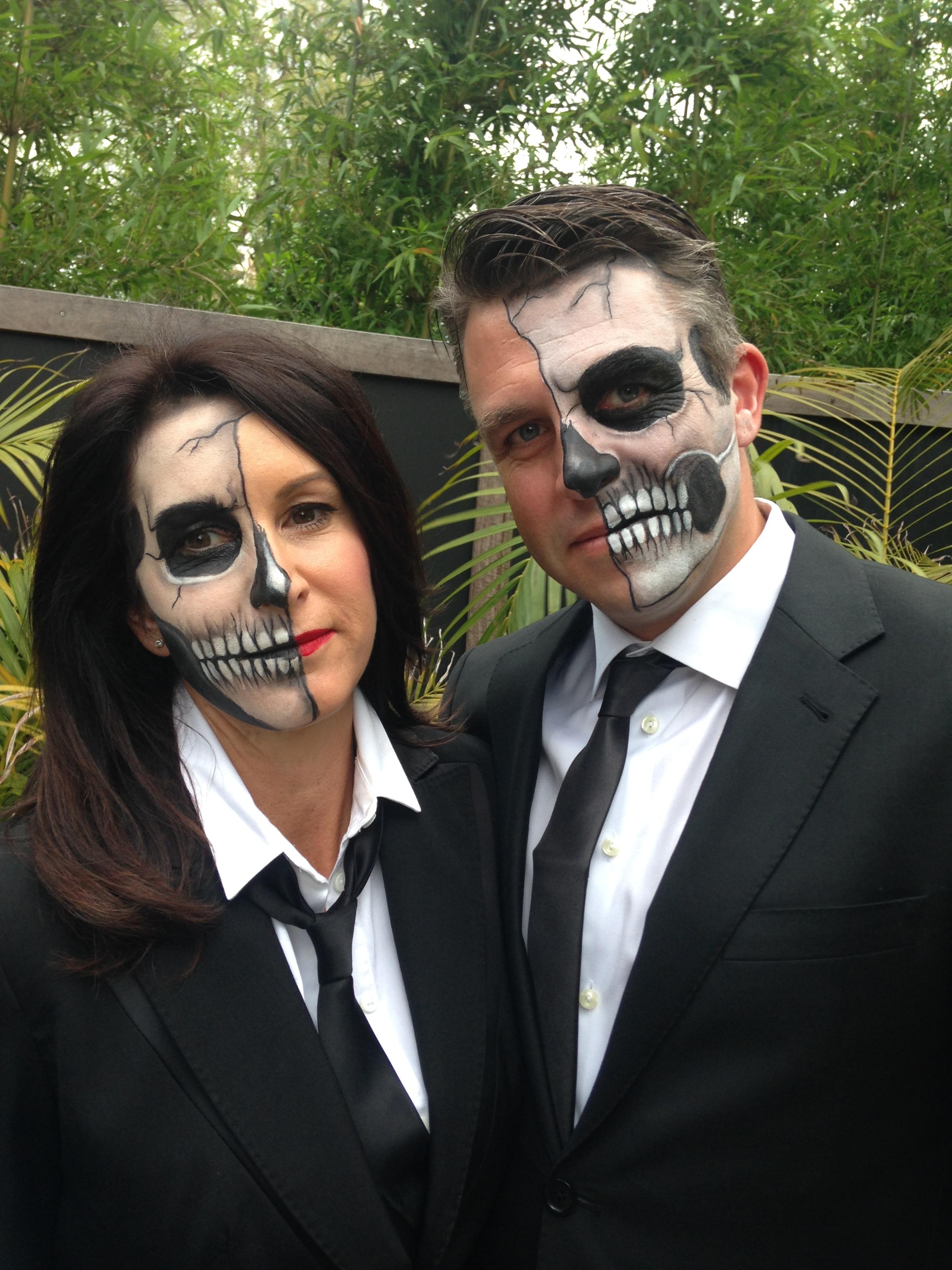 Halloween makeup design for clients