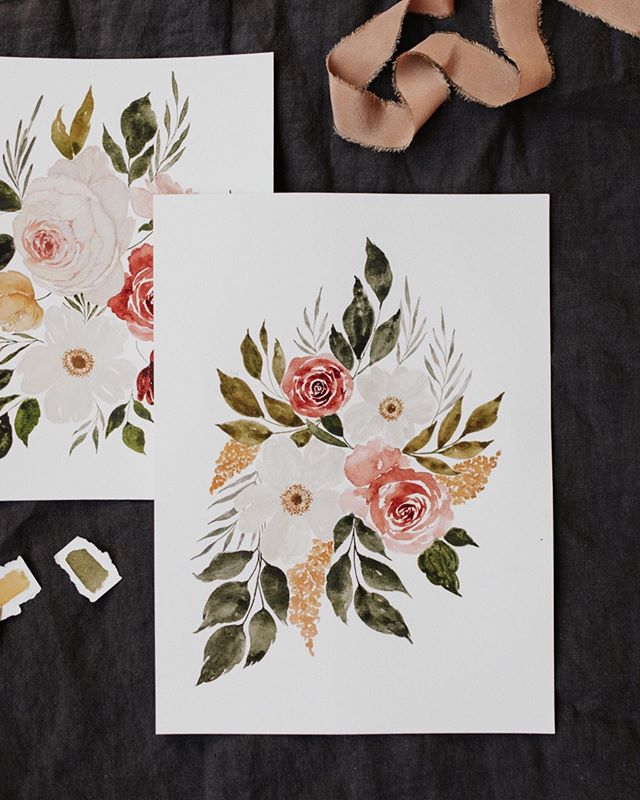 Happy Wednesday!! So excited to announce we just added our first SUMMER workshop class date @teabar🥳🌸 Mark your calendars for June 29th at Tea Bar Pearl for an Intro to Watercolor Florals workshop! Come learn how to paint summery Florals like these! ☝🏻☝🏻Sign up link is live in our bio! Head over for all details and an exclusive coupon code in the class description☺️🙌🏻 #summerworkshops #seekpapercoworkshop #watercolor #florals #handlettering #seekpaperco #paper #lettering #calligrapher #stationer #design #thatsdarling #moderncalligraphy #stationery #thedailytype #flatlay #watercolor #florals #papergoods #fortheloveofpaper #watercolor #makersmovement #summer #handcrafted #portland #workshop  #gift #communityovercompetition #learnsomethingnew #teabar