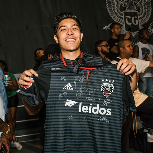@dcunited x #trillgrillfest  We love keeping it all in the city!