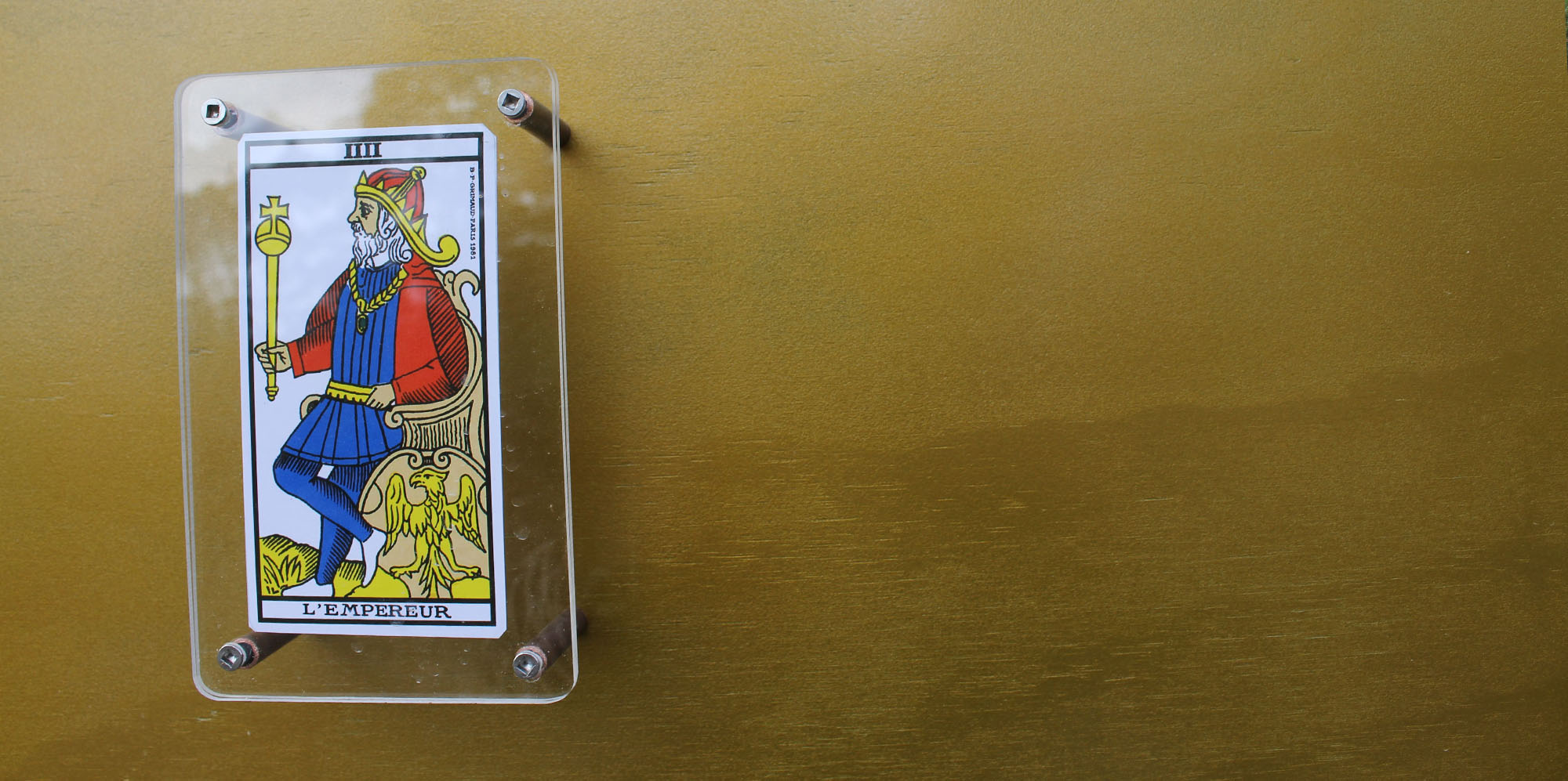 One of the card holder