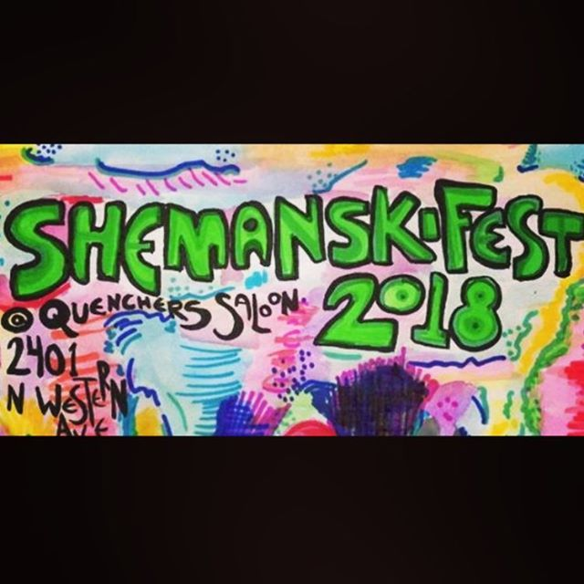 Tonight! #thebangers at @quencherssaloon for #shemanskifest2018 We go on at 11:00. Come thru Chicago 👯♀️🎸👭🎹👯♀️🎤👭🎷