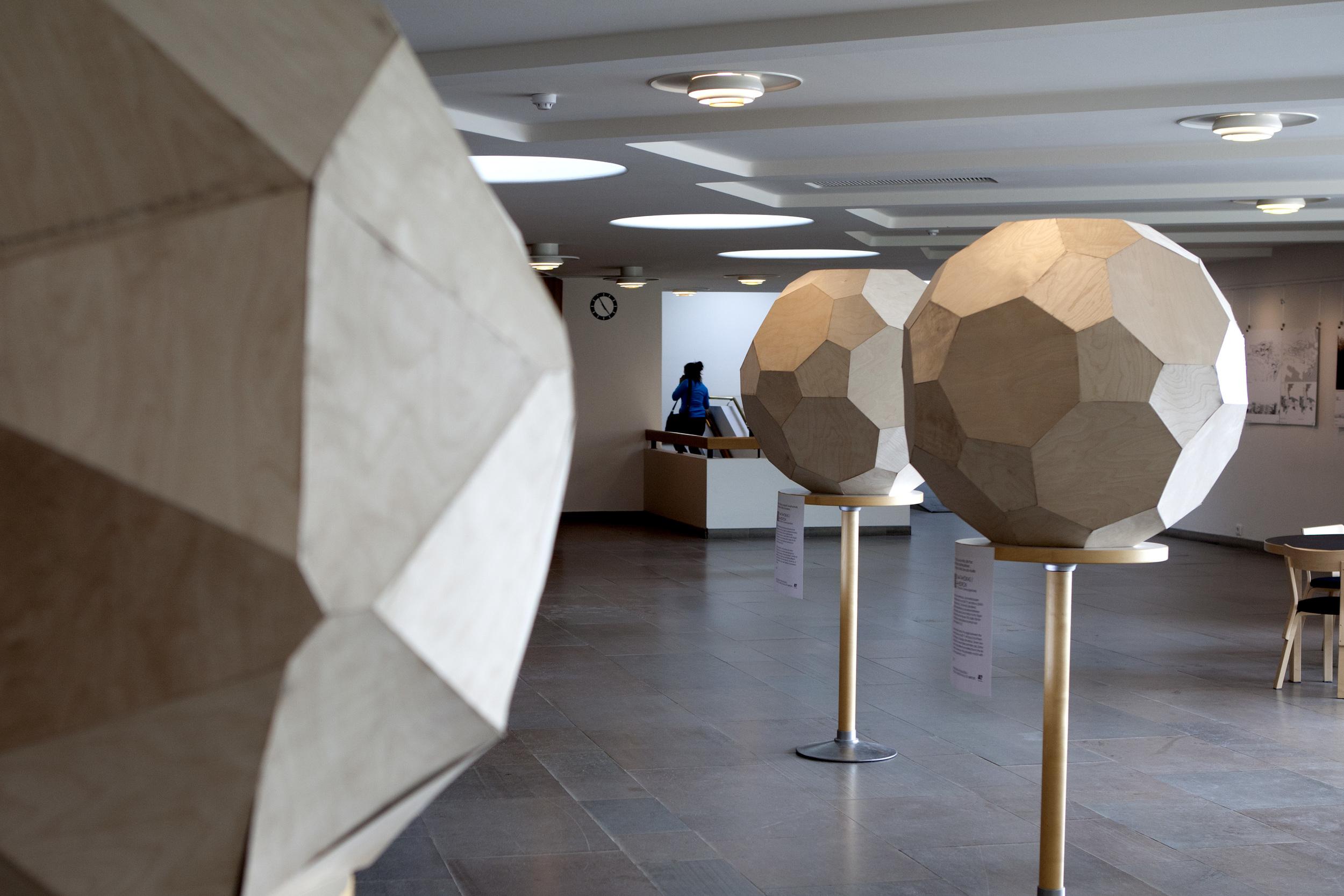 Polyhedrons / photo: Adolfo Vera