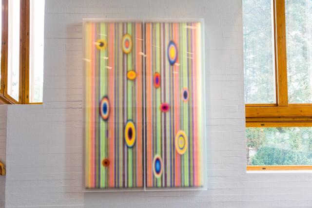 "Hans-Christian Berg, ""Color Sauce - Color lensing blind"" 2017"